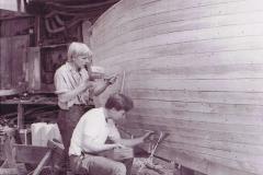 Boat building looe