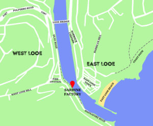 Map of Looe